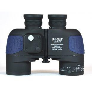 Jūriniai žiūronai Focus Aquafloat 7x50 Waterproof Compass
