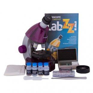 Mikroskopas Levenhuk LabZZ M101 Amethyst 40x-640x