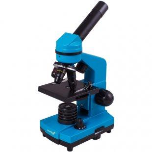 Mikroskopas su eksperimentiniu rinkiniu K50 2L Levenhuk Rainbow 40x - 400x Azure