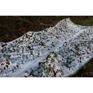 Camo maskuojantis tinklas sniegas 3x6 m