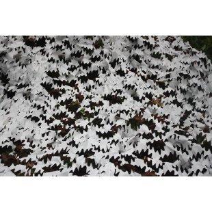 Camo maskuojantis tinklas sniegas 3x3 m