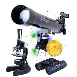 Opticon Teleskopas + Mikroskopas + Žiūronai Science Master SE