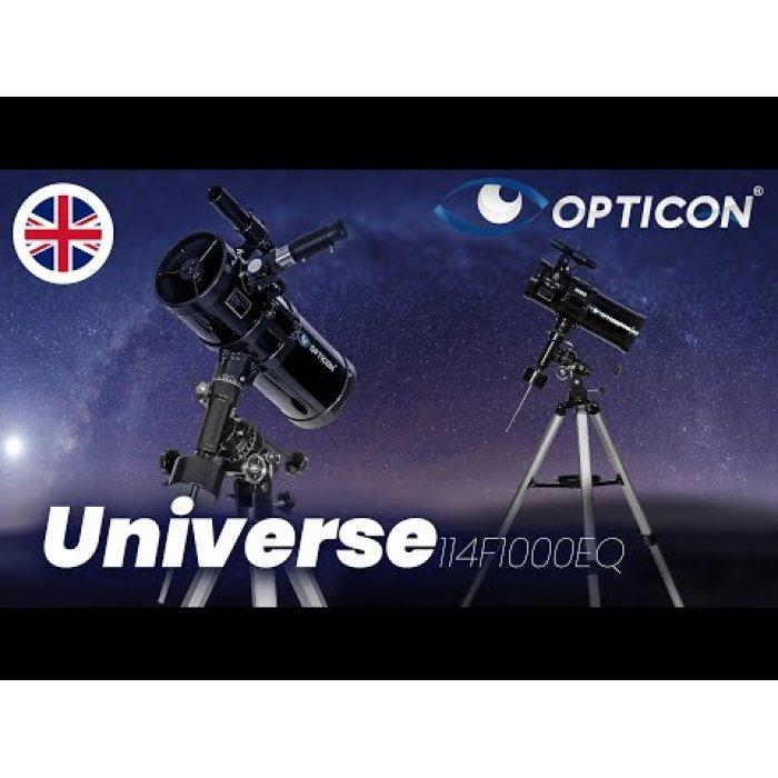 Teleskopas OPTICON Universe 114F1000EQ