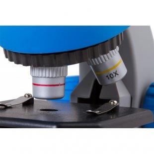 Mikroskopas Bresser Junior 40-640x mėlynas